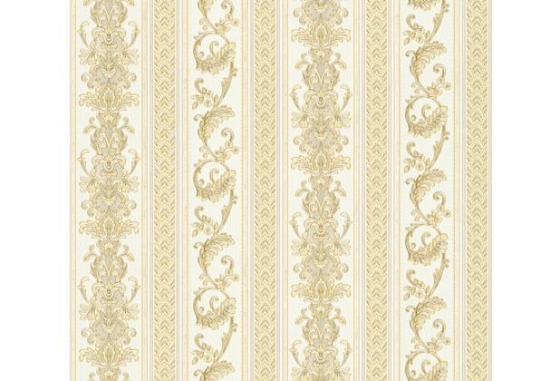 AS Création barocke Mustertapete Hermitage 10 creme gelb 335473 10,05 m x 0,53 m