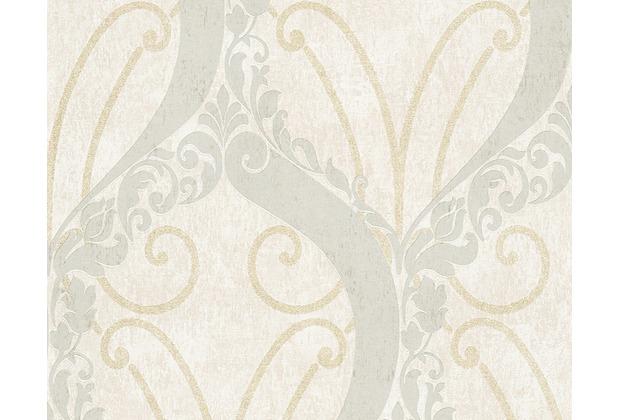 AS Création barocke Mustertapete Soraya Tapete beige metallic 305862 10,05 m x 0,53 m