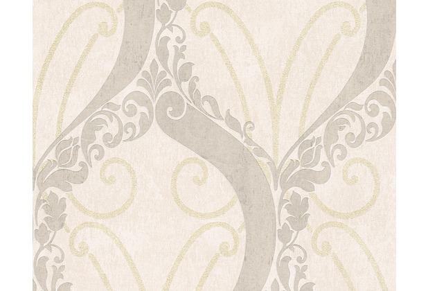 AS Création barocke Mustertapete Soraya Tapete beige metallic 305863 10,05 m x 0,53 m