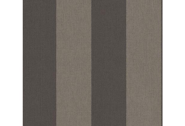 AS Création Blockstreifentapete Borneo Tapete braun schwarz 327181 10,05 m x 0,53 m