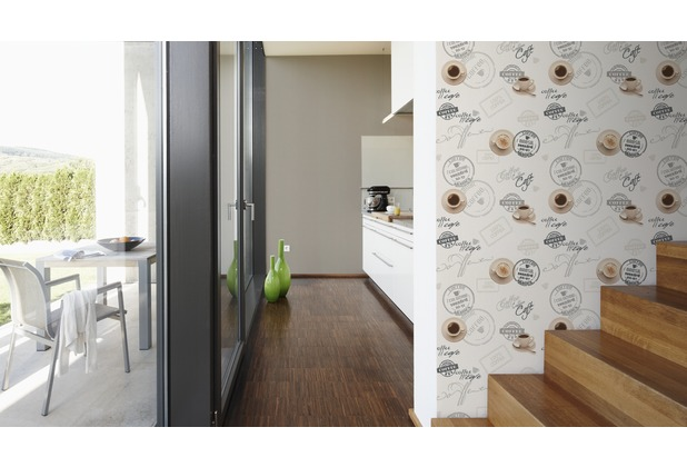AS Création Mustertapete Simply Decor Tapete beige braun creme 10,05 m x 0,53 m