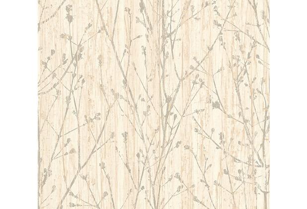 AS Création florale Mustertapete Borneo Tapete beige creme grau 327131 10,05 m x 0,53 m