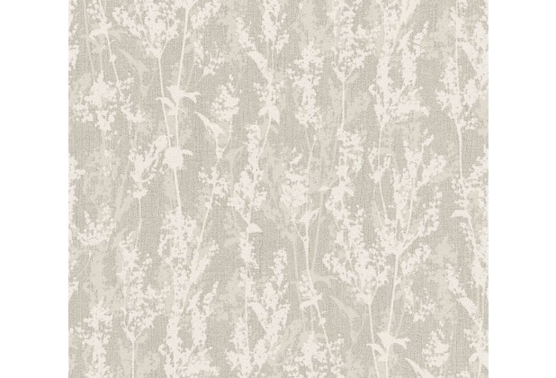 AS Création florale Mustertapete Borneo Tapete creme grau 327173 10,05 m x 0,53 m