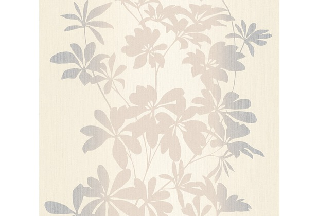AS Création florale Mustertapete Fiore Tapete beige creme metallic 325841 10,05 m x 0,53 m