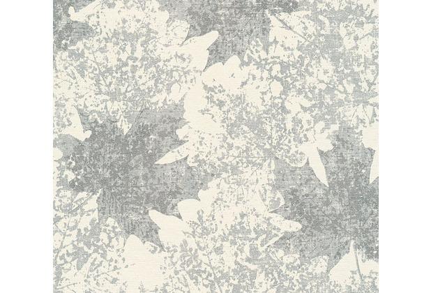 AS Création florale Mustertapete in Vintage Optik Borneo Tapete creme metallic 322645 10,05 m x 0,53 m