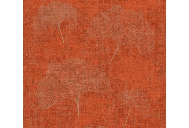 AS Création florale Mustertapete in Vintage Optik Borneo Tapete metallic rot 10,05 m x 0,53 m
