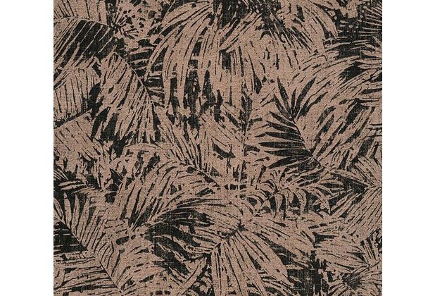 AS Création florale Mustertapete in Vintage Optik Borneo Tapete metallic schwarz 322631 10,05 m x 0,53 m