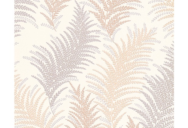 AS Création florale Mustertapete New Orleans Strukturprofiltapete beige grau metallic 305081 10,05 m x 0,53 m