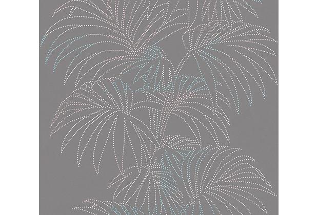 AS Création florale Mustertapete Reflection Vliestapete Tapete bunt grau metallic 319985 10,05 m x 0,53 m