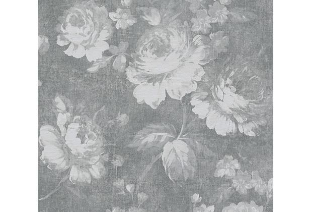 AS Création florale Mustertapete Secret Garden Tapete grau 336041 10,05 m x 0,53 m