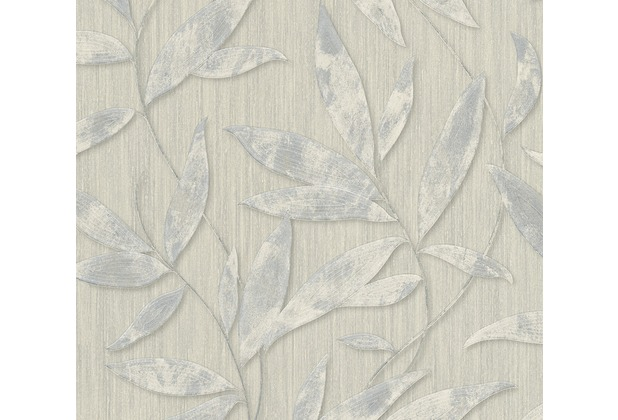 AS Création florale Mustertapete Siena Tapete grau metallic 328803 10,05 m x 0,53 m