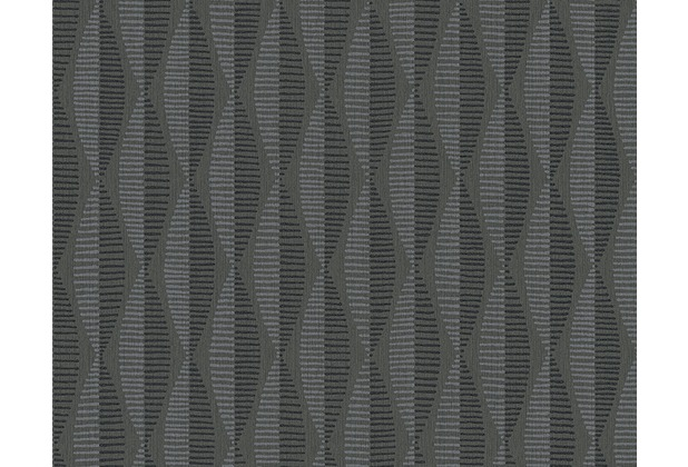 AS Création grafische Mustertapete Around the world Vliestapete braun schwarz 304175 10,05 m x 0,53 m