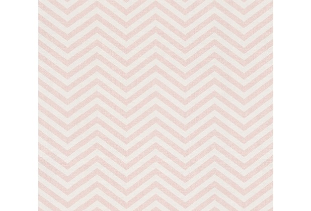 AS Création grafische Mustertapete Ökotapete Scandinavian Style metallic rosa weiß 341392 10,05 m x 0,53 m