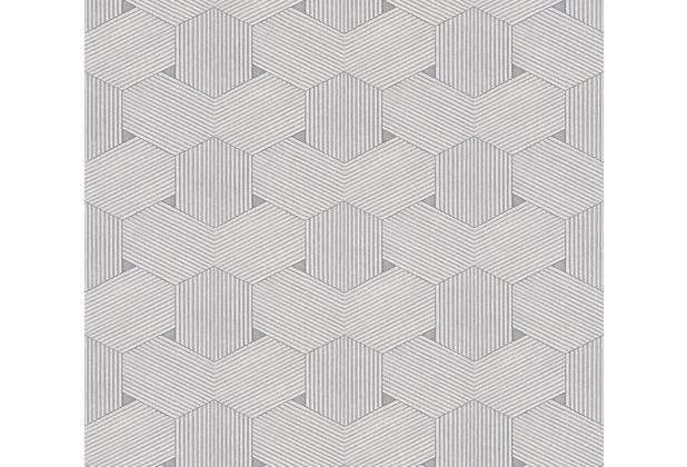 AS Création grafische Mustertapete Urban Life Tapete grau metallic 326591 10,05 m x 0,53 m
