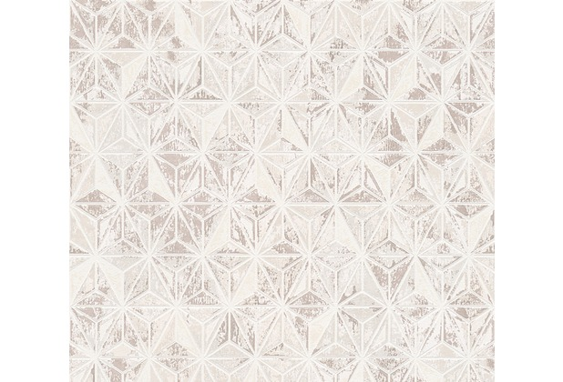 AS Création grafische Mustertapete Vision Vliestapete beige braun creme 307053 10,05 m x 0,53 m