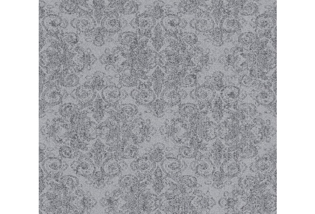 AS Création klassische Mustertapete mit Glitter Midlands Vliestapete grau metallic 319902 10,05 m x 0,53 m