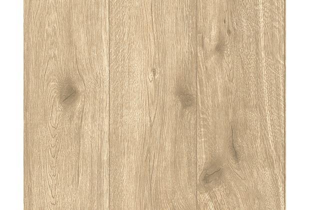 AS Création Mustertapete Best of Wood`n Stone, Vliestapete, beige, braun 300434 10,05 m x 0,53 m