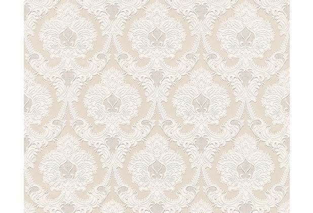 AS Création Mustertapete Concerto 2, Papiertapete, beige 764034 10,05 m x 0,53 m