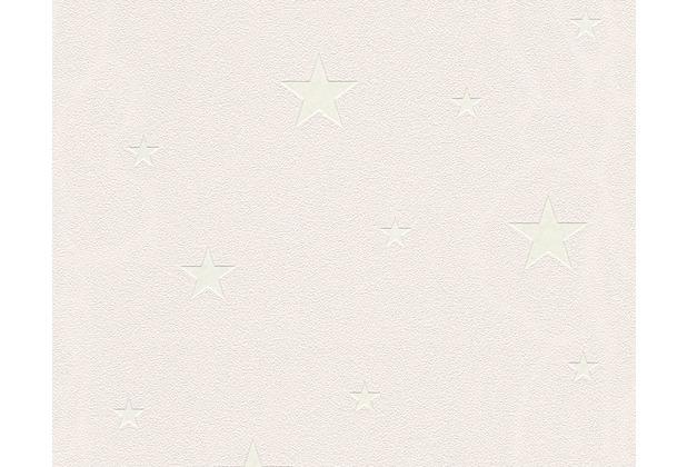 AS Création Mustertapete Day & Night glow in the dark Leuchttapete Vliestapete beige 324404 10,05 m x 0,53 m