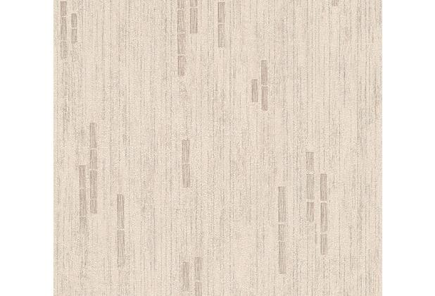 AS Création Mustertapete Essentials Vliestapete Tapete beige braun metallic 318505 10,05 m x 0,53 m