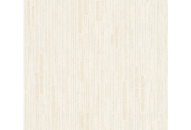 AS Création Mustertapete Essentials Vliestapete Tapete beige metallic 10,05 m x 0,53 m