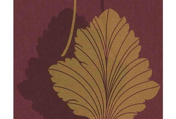 As cr ation mustertapete fleece royal tapete metallic for Fleece tapete