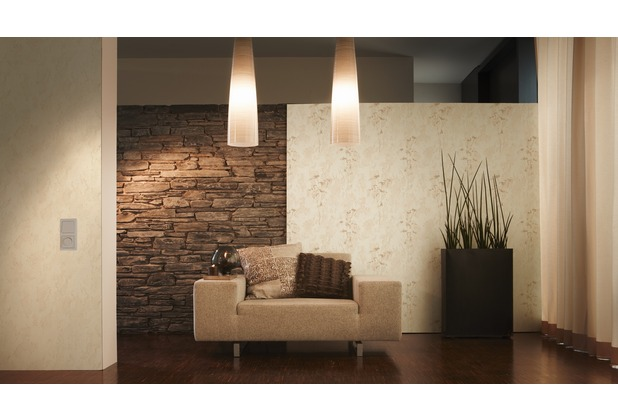 AS Création Mustertapete Free Nature Vliestapete beige creme 10,05 m x 0,53 m