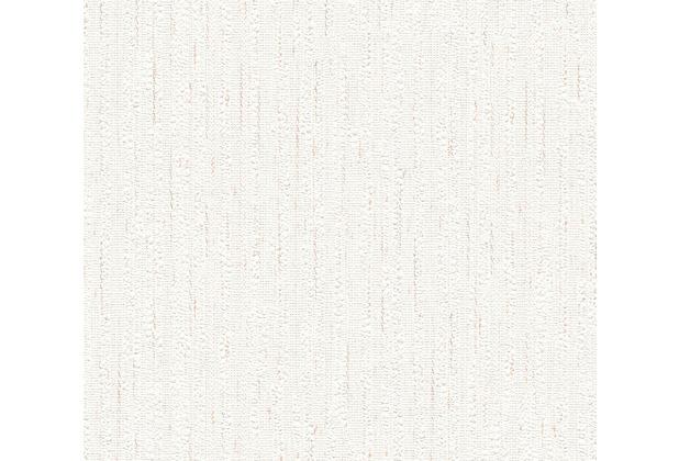 AS Création Mustertapete Happy Spring Papiertapete beige braun weiß 10,05 m x 0,53 m