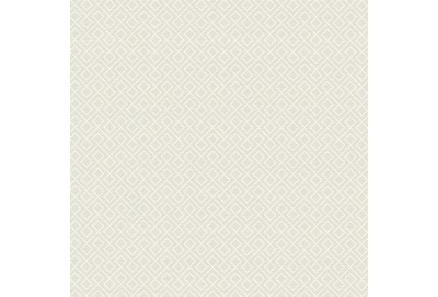 AS Création Mustertapete im skandinavischen Stil Björn Vliestapete creme grau weiß 351802 10,05 m x 0,53 m