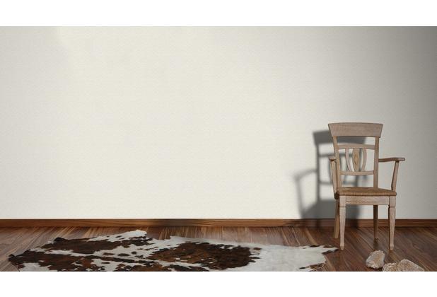AS Création Mustertapete im skandinavischen Stil Björn Vliestapete creme grau weiß 10,05 m x 0,53 m