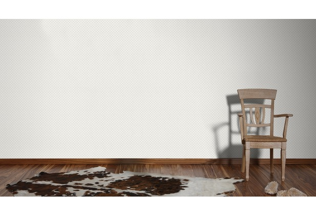 AS Création Mustertapete im skandinavischen Stil Björn Vliestapete metallic weiß 10,05 m x 0,53 m