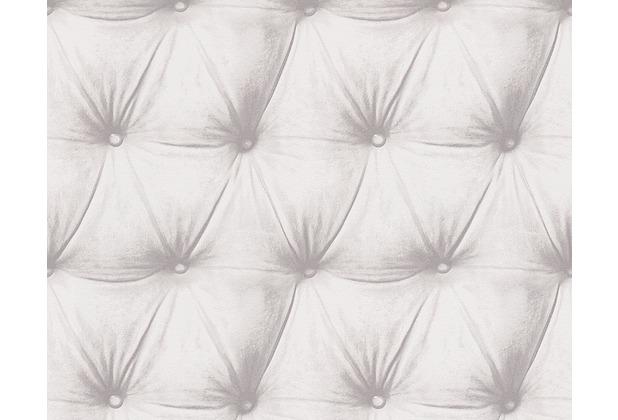 as cr ation mustertapete in lederoptik new england 2 tapete braun creme. Black Bedroom Furniture Sets. Home Design Ideas
