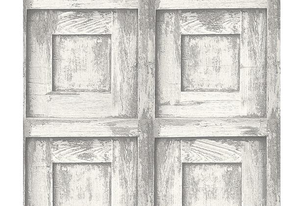 as cr ation mustertapete in vintage holzoptik decoworld 2. Black Bedroom Furniture Sets. Home Design Ideas
