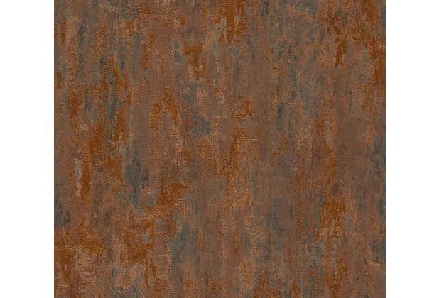 AS Création Mustertapete in Vintage Optik Havanna Tapete braun metallic orange 326511 10,05 m x 0,53 m