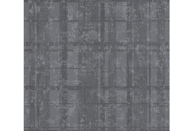 AS Création Mustertapete in Vintage Optik Midlands Tapete grau metallic 319921 10,05 m x 0,53 m