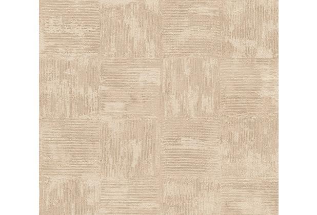as cr ation mustertapete in vintage optik saffiano beige. Black Bedroom Furniture Sets. Home Design Ideas