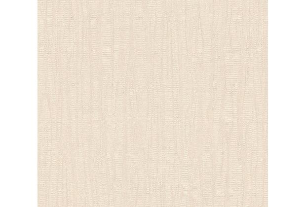 AS Création Mustertapete in Vintage Optik Saffiano beige 340612 10,05 m x 0,53 m
