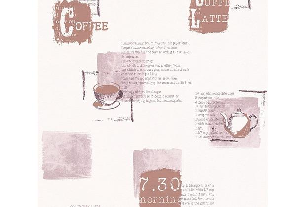 AS Création Mustertapete Kitchen Dreams Vliestapete braun creme 327332 10,05 m x 0,53 m