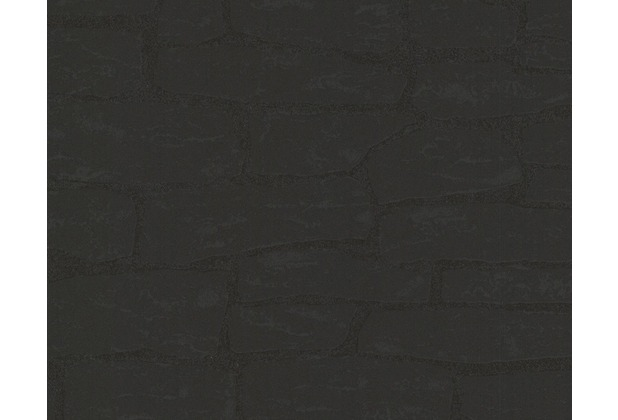 AS Création Mustertapete New England 2, Vliestapete, schwarz 139511