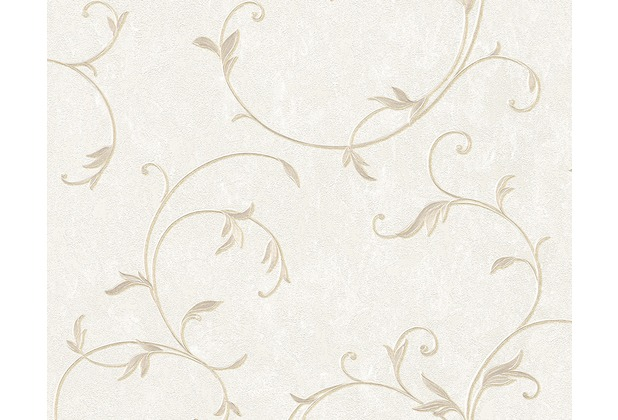 AS Création Mustertapete Romantica 3 Tapete beige creme metallic 304182 10,05 m x 0,53 m
