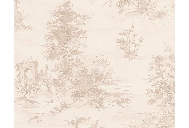AS Création Mustertapete Romantica 3 Tapete beige creme rosa 304291 10,05 m x 0,53 m