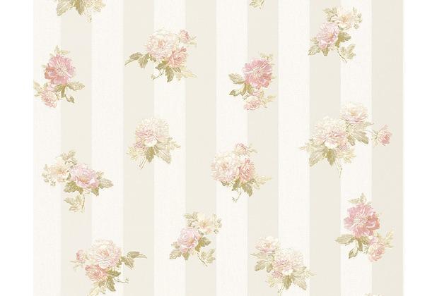 AS Création Mustertapete Romantica 3 Tapete creme grau rosa 304471 10,05 m x 0,53 m