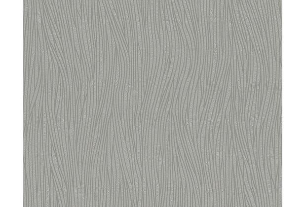 AS Création Mustertapete San Francisco, Strukturprofiltapete, grau 949547 10,05 m x 0,53 m