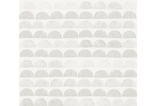 AS Création Mustertapete Scandinavian Style creme grau 342443 10,05 m x 0,53 m