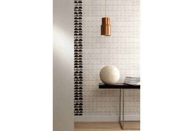 AS Création Mustertapete Scandinavian Style creme grau 10,05 m x 0,53 m