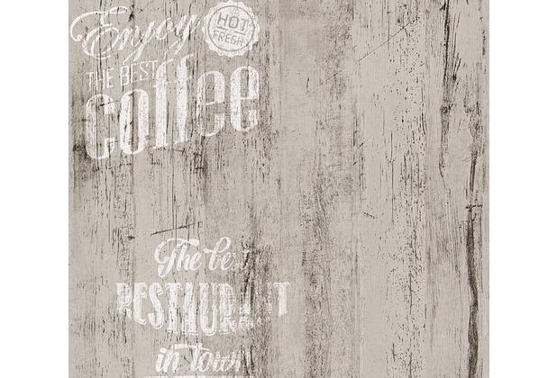 AS Création Mustertapete Simply Decor Papiertapete grau schwarz weiß 334814 10,05 m x 0,53 m