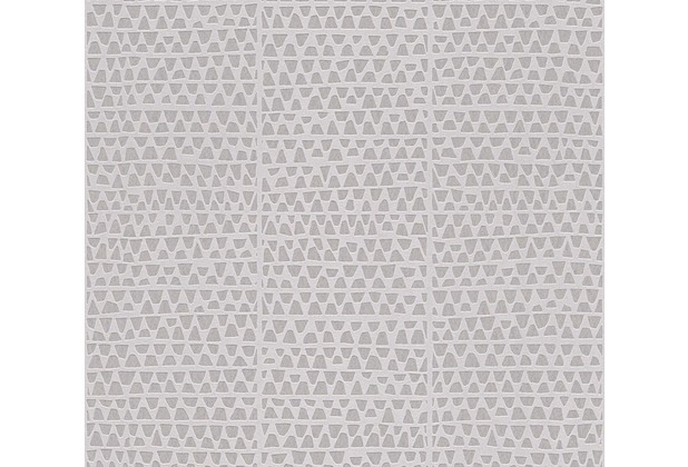 AS Création Mustertapete Urban Life Vliestapete grau metallic 326574 10,05 m x 0,53 m