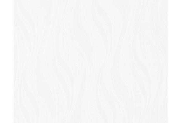 AS Création Mustertapete, Vliestapete, weiss,grau 247919 10,05 m x 0,53 m