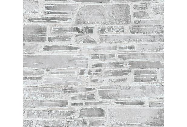 AS Création Papiertapete Il Decoro Tapete in Naturstein Optik beige grau 364592 10,05 m x 0,53 m