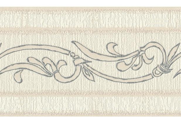 AS Création selbstklebende Bordüre Only Borders 9 beige metallic 263513 5,00 m x 0,13 m